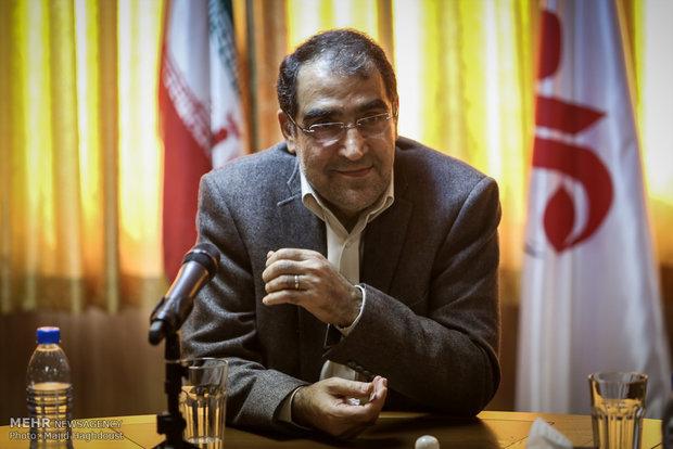 زيارة وزير الصحة لوكالة مهر