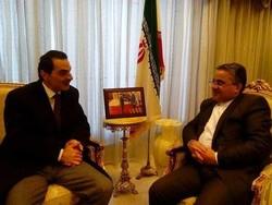 Mojtaba Ferdowsipour (L) Fadi Shraideh