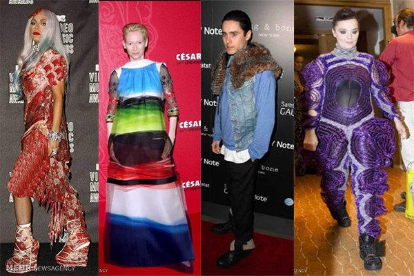 مسخرهترین لباس سلبریتیهای جهان
