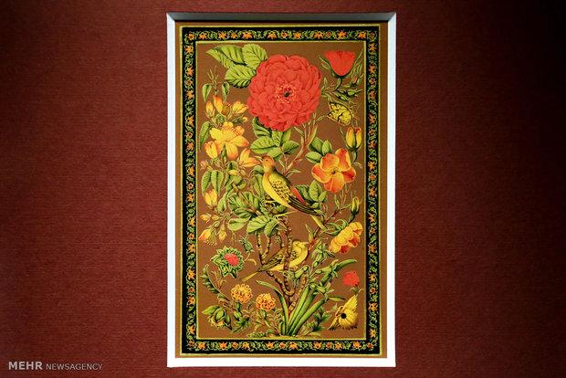 """""""Bülbül ve çiçek"""" isimli geleneksel yaldız bienali"""