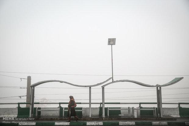 Tahran'ın sisli havası