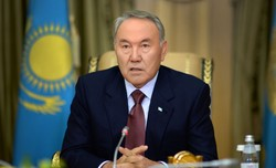 Kazakhstan condoles Rouhani on Tehran terror attacks