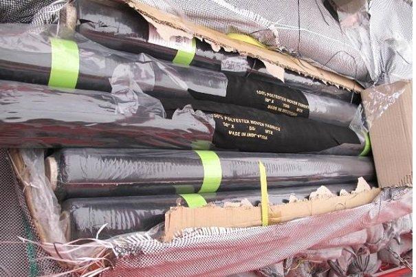 محموله پارچه قاچاق در دلیجان شناسایی و توقیف شد