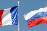 پرچم روسیه و فرانسه