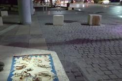 فروش آثار دست ساز در جوار حافظ/ همنشینی دختر هنرمند باگذر هنر