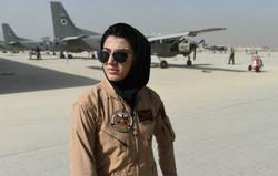 أول طيارة أفغانية تطلب اللجوء في الولايات المتحدة