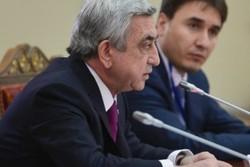 الرئيس الأرميني يكشف عن توقيع اتفاق اقتصادي بين طهران ويريفان