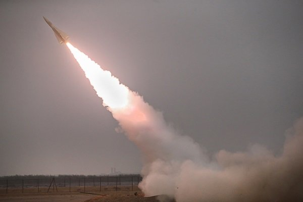 Missiles hit imaginary targets during Tue. drills