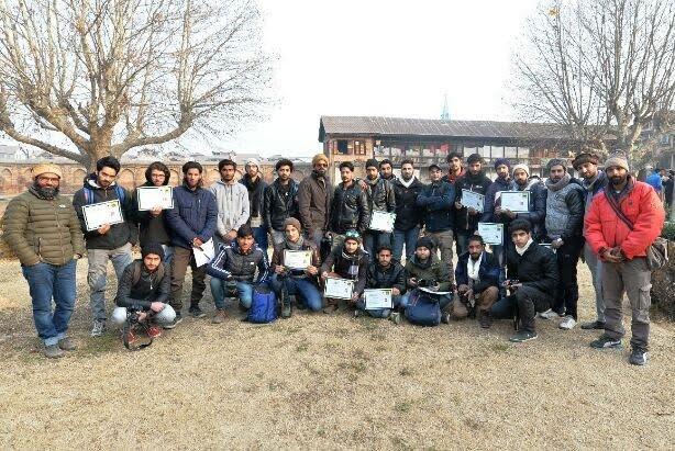 First ever street photowalk held in Kashmir