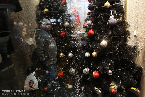 New Year's shopping in Iran