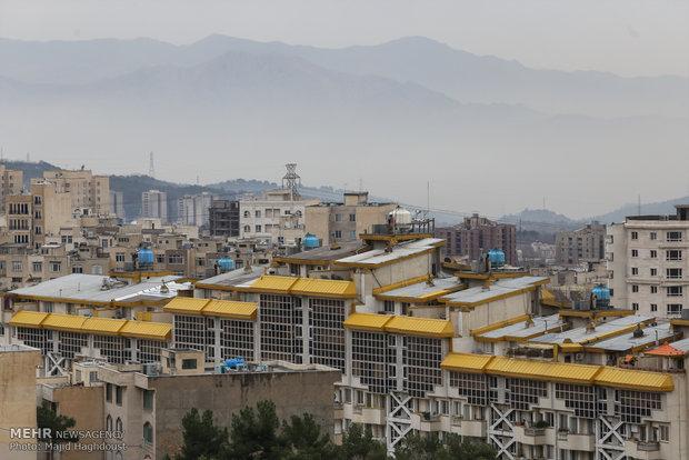 Tehran's gloomy sky