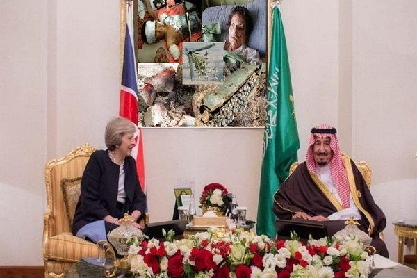بريطانيا تبيع الاسلحة للنظام السعودي لقتل المدنيين في اليمن