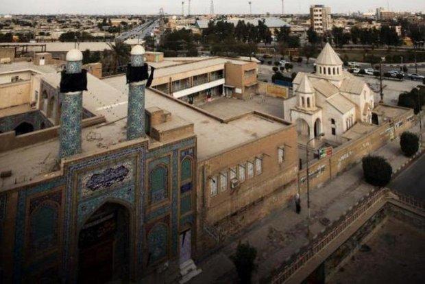 زیبایی های خوزستان کلیسای آبادان