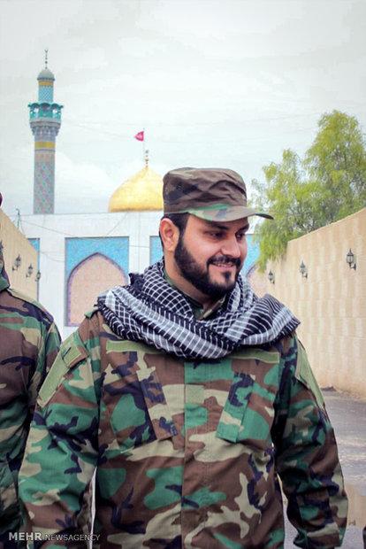 حضور اکرم الکعبی دبیرکل نُجَباء در حلب سوریه