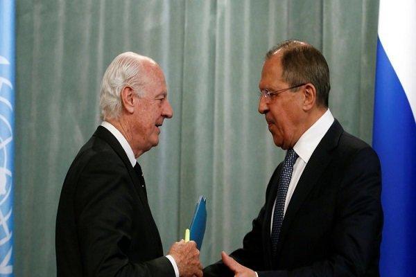 روسیه: «دی میستورا» از نتایج نشست مسکو درباره سوریه حمایت می کند