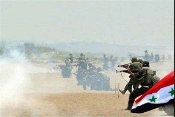 تسلط ارتش سوریه بر عین الخضره/سرنگونی پهپاد داعش در دیرالزور