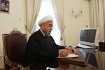 صدر حسن روحانی کا حاج رضا فلاوند کے انتقال پر تعزیتی پیغام
