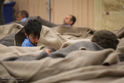 اسکان کارتنخوابها در گرمخانههای شهرداری تهران