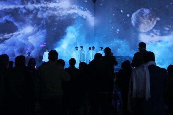 نمایش «عصر آن روز» در میدان امام حسین (ع) اجرا شد