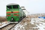 اولین قطار مسافربری نخجوان-مشهد وارد ایران شد