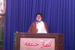 کراپشده - سید محمد حسینیان امام جمعه دامغان