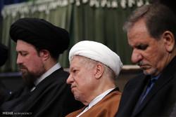 اقامة مراسم تأبين آية الله موسوي اردبيلي في حسينية جماران / صور