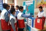 ۴۲۰ کانون دانش آموزی هلال احمر در خوزستان فعال هستند