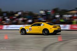 لقطات من سباق السرعة للسيارات في جزيرة كيش /صور