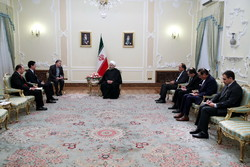 Pres. Rouhani stresses closer ties with Ecuador, Morocco