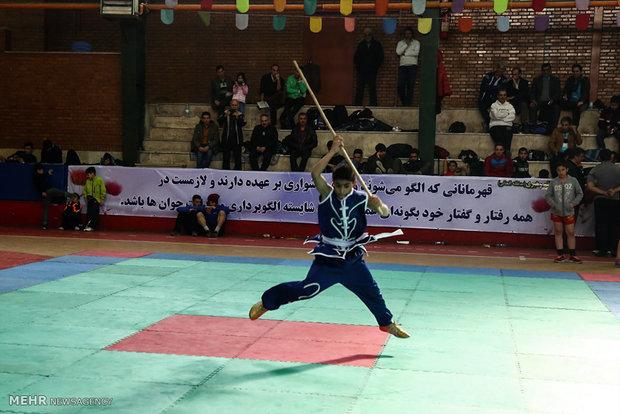 ۱۰۰۰نفر از دانش آموزان زنجانی برای رشته ووشو استعداد یابی شدند