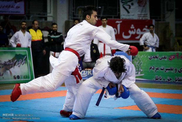 ۱۲ کاراته کای اعزامی به باکو معرفی شدند