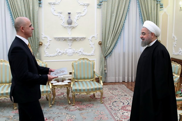 Adrian Kozjacski Romania Ambassador to Iran
