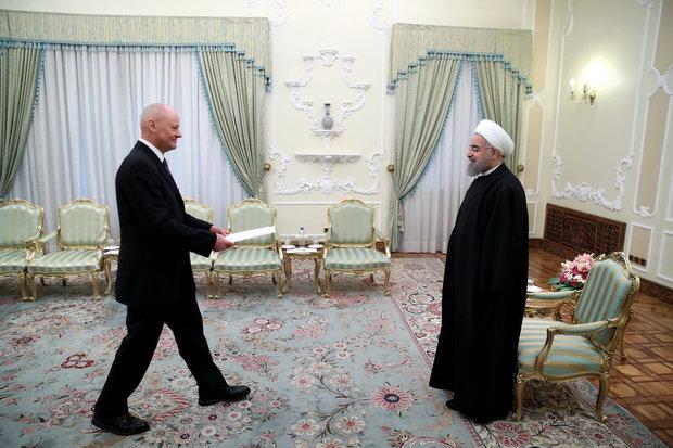 Michael Klor-Berchtold German Ambassador to Tehran