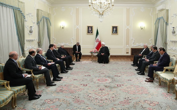 Rouhani, Foreign Minister of Syria met in Tehran