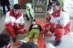 ارائه آموزش کمک های اولیه هلال احمر به ۱۲۸۰ نفر در خراسان جنوبی