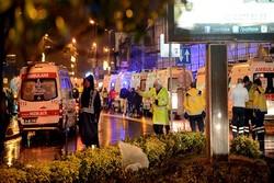 ۸ مظنونِ حمله مسلحانه به باشگاه شبانه در استانبول بازداشت شدند