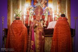 سال نو میلادی در کلیسا سرکیس مقدس