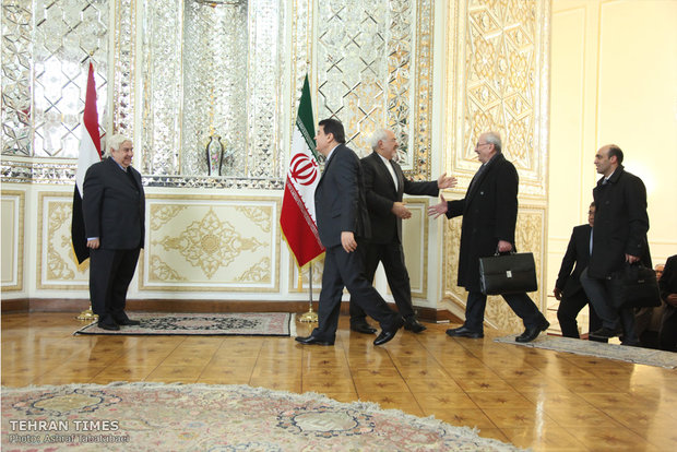 FMs of Iran, Syria meet in Tehran