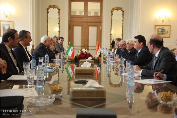 FMs of Iran, Syria meet in Tehran