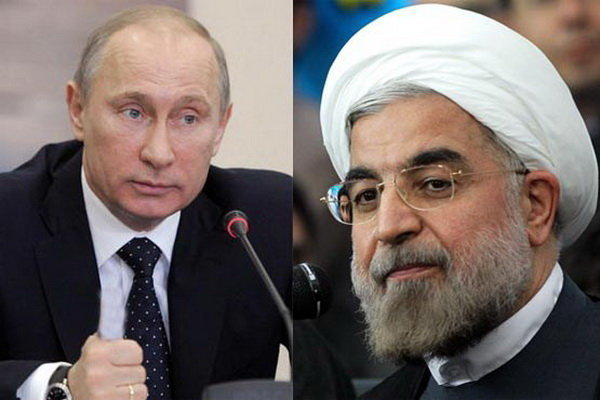 Iran, Russia presidents discuss ceasefire in Syria