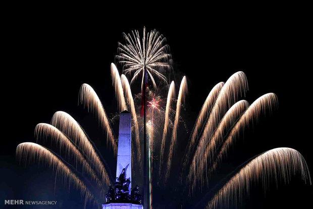 لندن میں نئے سال کی آمد پر ہونے والا آتش بازی کا مظاہرہ منسوخ