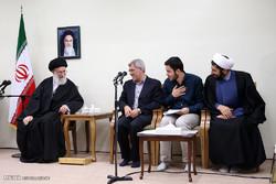 دیدار جمعی از نخبگان، مدال آوران و اساتید دانشگاه صنعتی شریف با رهبر انقلاب