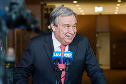 Appeal for peace by new UN chief