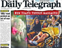 صفحه اول روزنامههای انگلیسی ۱۳ دی ۹۵