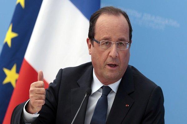 هولاند يزور العراق لتفقد القوات الفرنسية