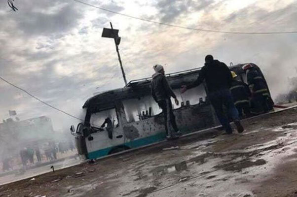 انفجار سيارتين مفخختين استهدفتا مستشفيين شرقي بغداد