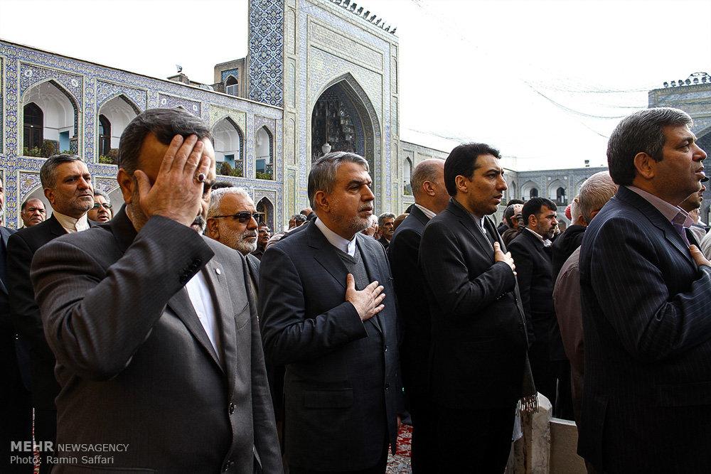 سفر وزیر فرهنگ و ارشاد اسلامی به مشهد مقدس