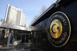 Dışişleri Bakanlığı İran'daki terör saldırılarını kınadı