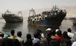 قایق ماهیگیری مصر