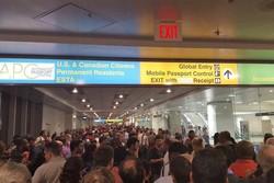 فرودگاه آمریکا